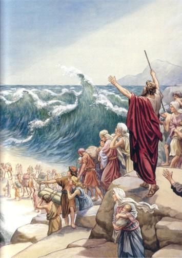почему моисей не вошел в землю обетованную ружье лучше